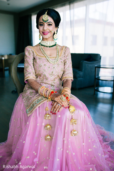 Bridal Fashion in Ludhiana, India Sikh Wedding by Rish Photography