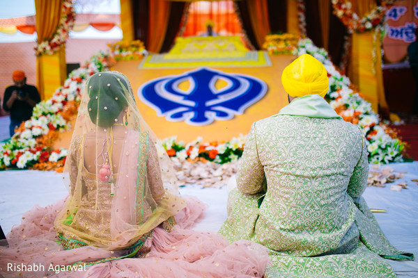 outdoor wedding ceremony,sikh wedding,sikh wedding ceremony,sikh ceremony,punjabi wedding