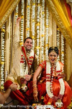 hindu ceremony,fusion indian wedding