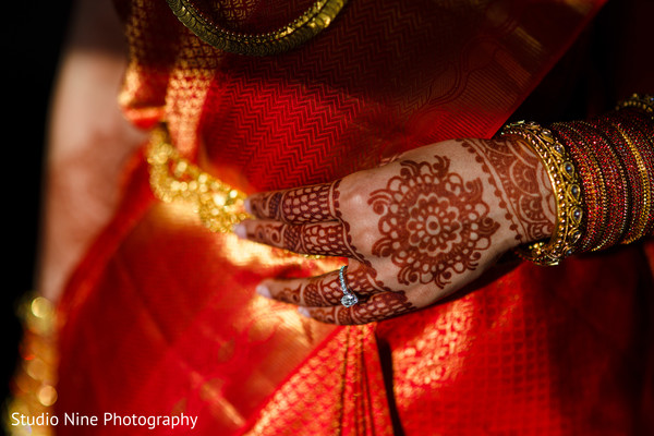 Bridal details in Philadelphia, PA Indian Fusion Wedding by Studio Nine Photography