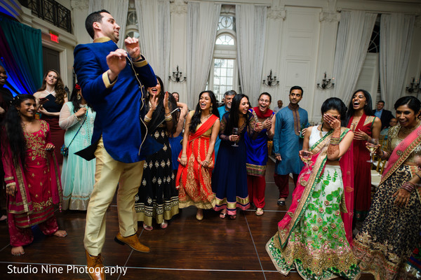 Pre wedding celebration in Philadelphia, PA Indian Fusion Wedding by Studio Nine Photography