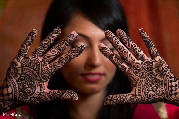 Mehndi in Sugar Land, TX Indian Wedding by MnMfoto