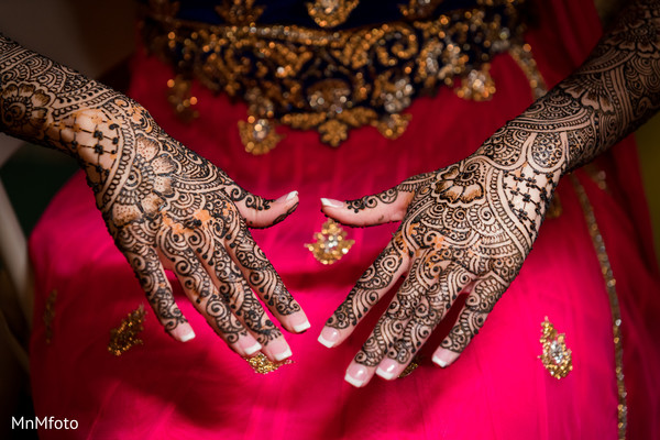 Mehndi in Sugar Land, TX Indian Wedding by MnMfoto