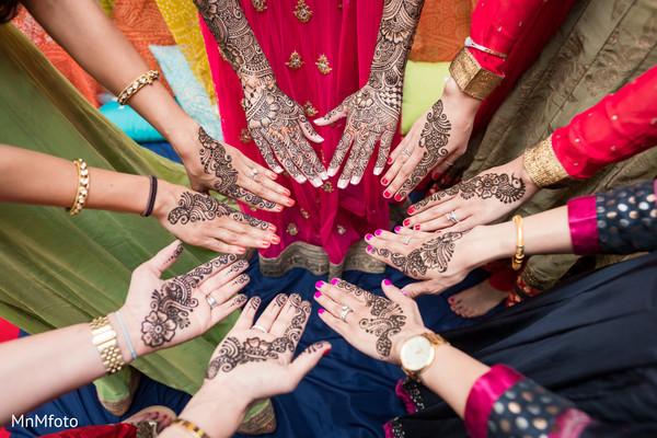 Mehndi Party in Sugar Land, TX Indian Wedding by MnMfoto