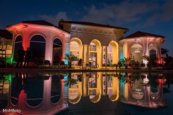 Venue & Lighting in Sugar Land, TX Indian Wedding by MnMfoto