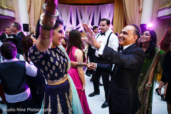 Reception in Philadelphia, PA Indian Fusion Wedding by Studio Nine Photography