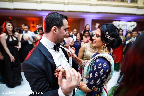 reception,fusion indian wedding