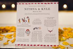 indian wedding programs,indian wedding stationery,custom stationery,stationery