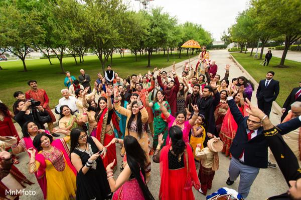 Baraat in Sugar Land, TX Indian Wedding by MnMfoto