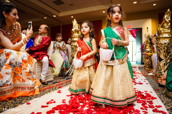Ceremony in Sugar Land, TX Indian Wedding by MnMfoto