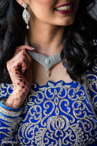 Bridal Jewelry in Sugar Land, TX Indian Wedding by MnMfoto