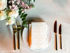 table setting,table decor,wedding menus,indian wedding stationery,custom stationery,stationery,reception decor