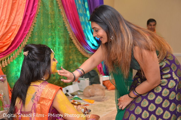 Gaye holud in Lewisville, TX Indian Wedding by PMistry Events/Digital Shaadi Weddings