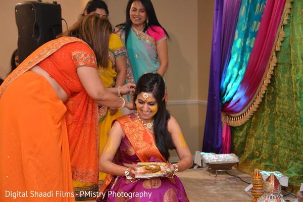 Gaye holud in Lewisville, TX Indian Wedding by PMistry Events/Digital Shaadi Weddings