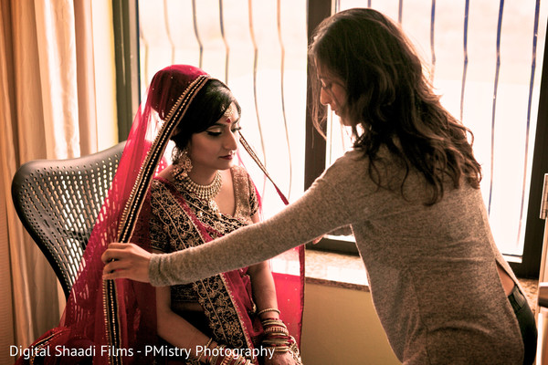 Getting ready in Lewisville, TX Indian Wedding by PMistry Events/Digital Shaadi Weddings