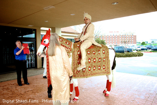 Baraat in Lewisville, TX Indian Wedding by PMistry Events/Digital Shaadi Weddings