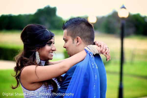 Reception portrait in Lewisville, TX Indian Wedding by PMistry Events/Digital Shaadi Weddings
