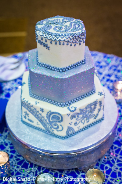 Wedding cake in Lewisville, TX Indian Wedding by PMistry Events/Digital Shaadi Weddings