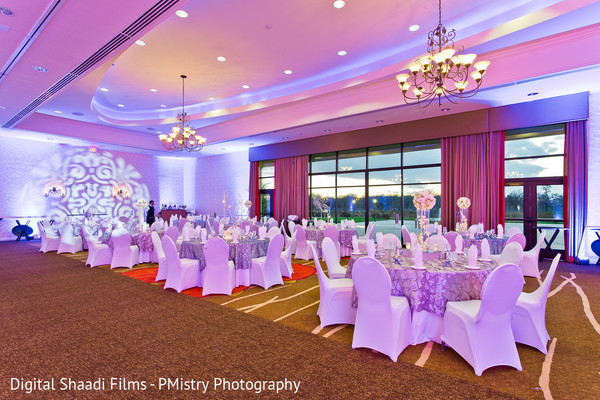 Reception decor in Lewisville, TX Indian Wedding by PMistry Events/Digital Shaadi Weddings