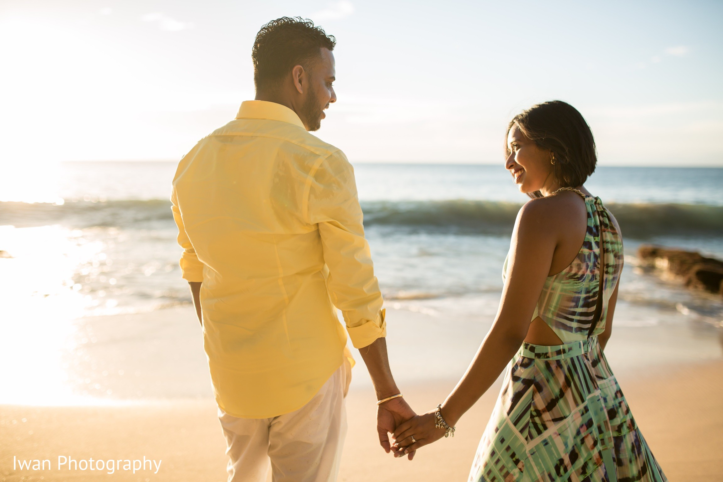 Bali Indonesia Indian Engagement By Iwan Photography