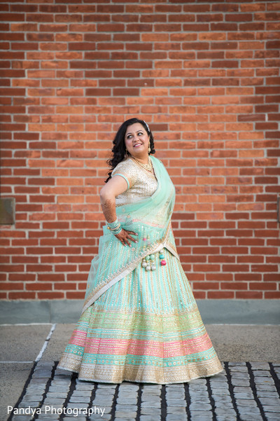 Reception portraits in Jersey City, NJ Indian Wedding by Pandya Photography