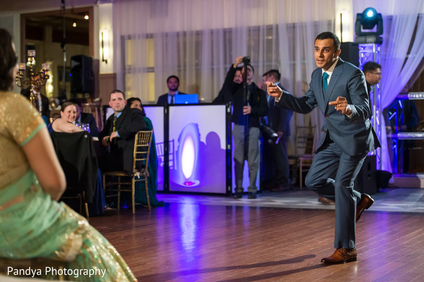 Indian wedding reception in Jersey City, NJ Indian Wedding by Pandya Photography