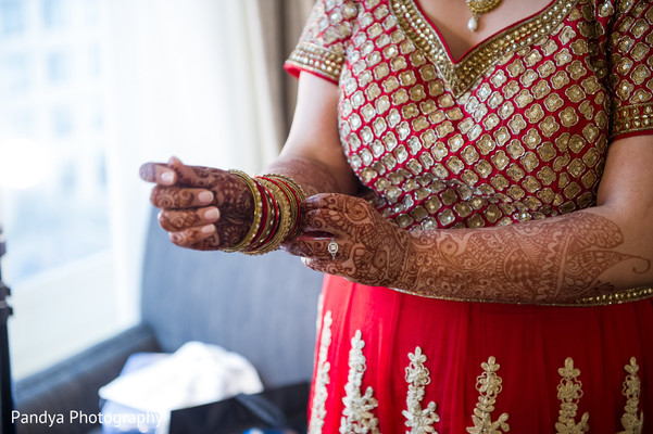 Mehndi in Jersey City, NJ Indian Wedding by Pandya Photography