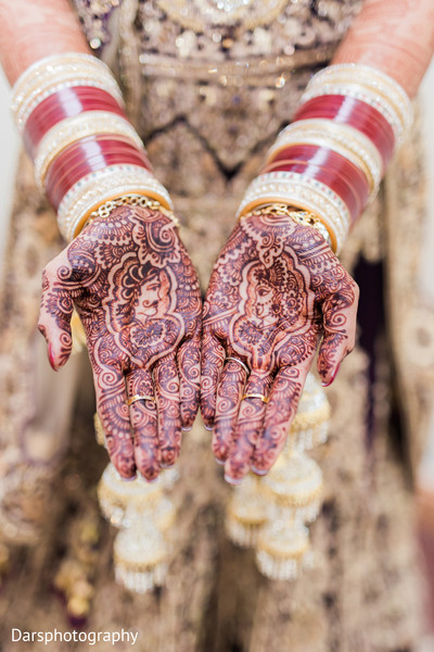 Mehndi in Downers Grove, IL Hindu-Sikh Fusion Wedding by Dars Photography