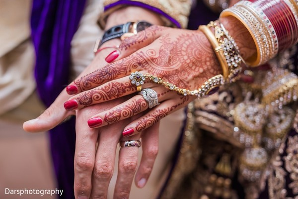 Mehndi & Jewelry in Downers Grove, IL Hindu-Sikh Fusion Wedding by Dars Photography
