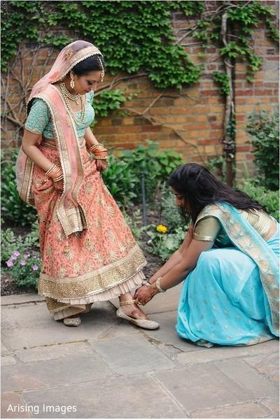 getting ready,indian bride getting ready