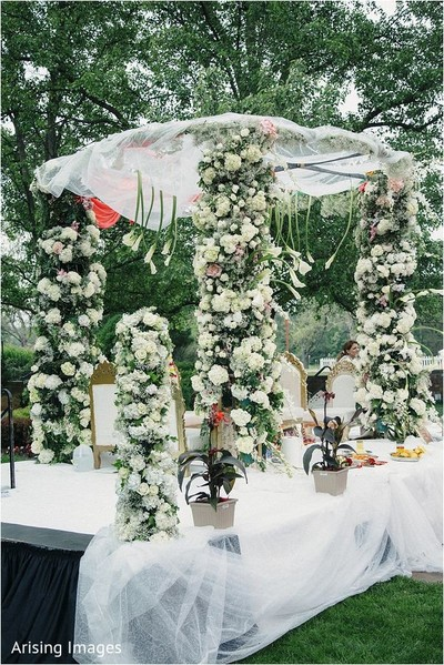 outdoor mandap,mandap,indian wedding decorations