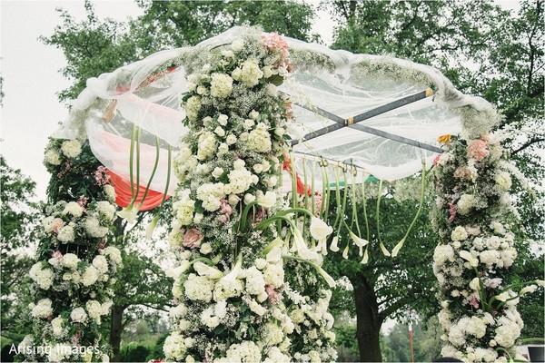 outdoor mandap,mandap,indian wedding decorations