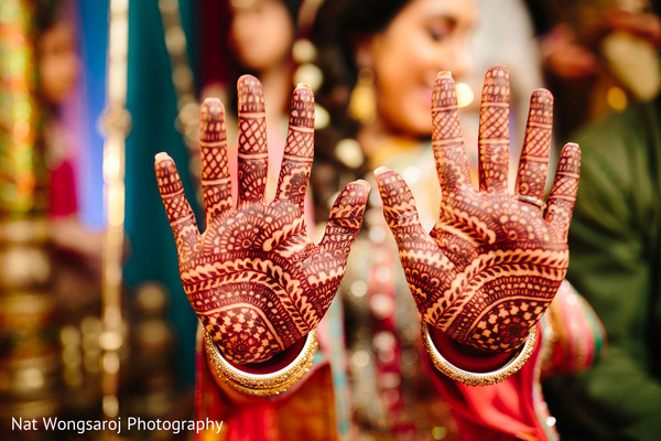 Mehndi in Arlington, VA Indian-Pakistani Fusion Wedding by Nat Wongsaroj Photography
