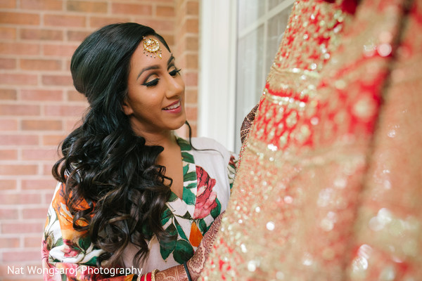 Getting Ready in Arlington, VA Indian-Pakistani Fusion Wedding by Nat Wongsaroj Photography