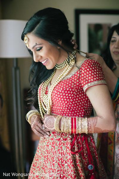 Getting Ready in Arlington, VA Indian-Pakistani Fusion Wedding by Nat Wongsaroj Photography
