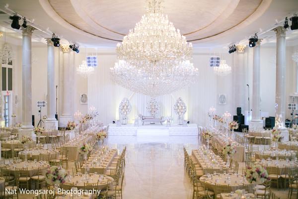 Venue in Arlington, VA Indian-Pakistani Fusion Wedding by Nat Wongsaroj Photography