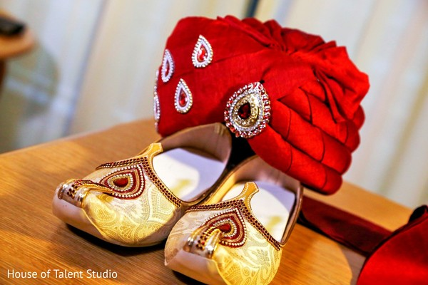 Groom Fashion in Pearl River, NY Indian Wedding by House of Talent Studio