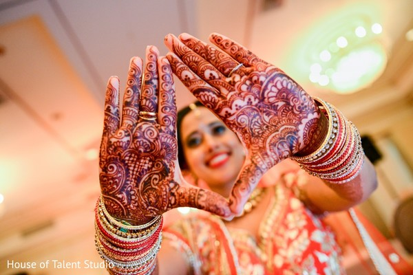 Mehndi in Pearl River, NY Indian Wedding by House of Talent Studio