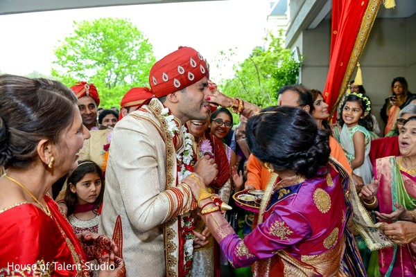Baraat in Pearl River, NY Indian Wedding by House of Talent Studio