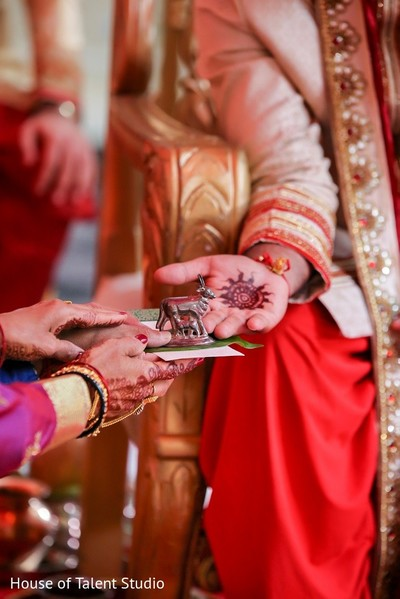 Ceremony in Pearl River, NY Indian Wedding by House of Talent Studio