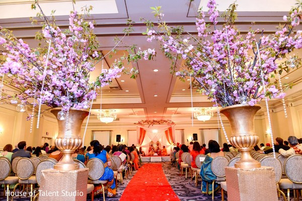 Venue & Decor in Pearl River, NY Indian Wedding by House of Talent Studio