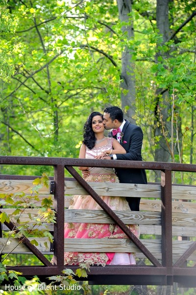 Reception Portrait in Pearl River, NY Indian Wedding by House of Talent Studio