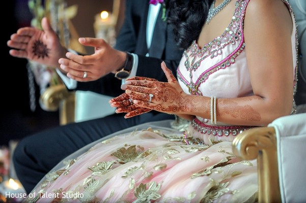 Reception in Pearl River, NY Indian Wedding by House of Talent Studio