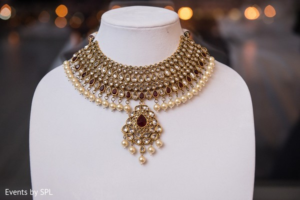 Bridal Jewelry in Savannah, GA Indian Wedding by Events by SPL