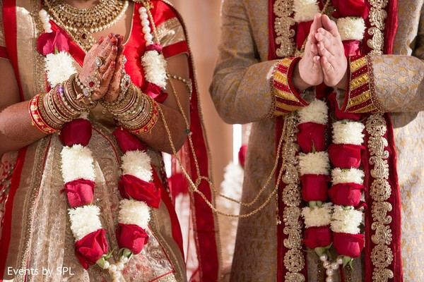 Ceremony in Savannah, GA Indian Wedding by Events by SPL