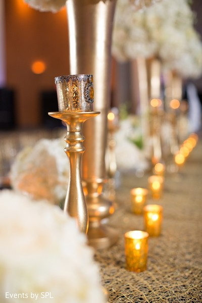 Floral & Decor in Savannah, GA Indian Wedding by Events by SPL