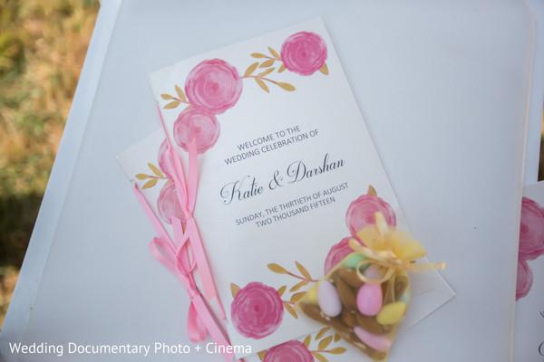 indian wedding programs