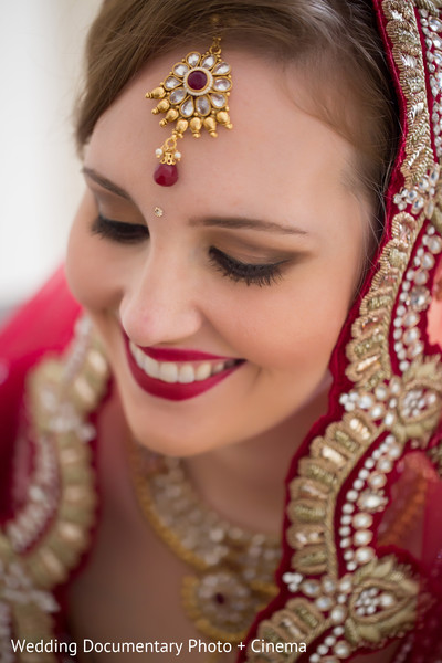 Bridal portrait in San Francisco, CA Indian Fusion Wedding by Wedding Documentary Photo + Cinema