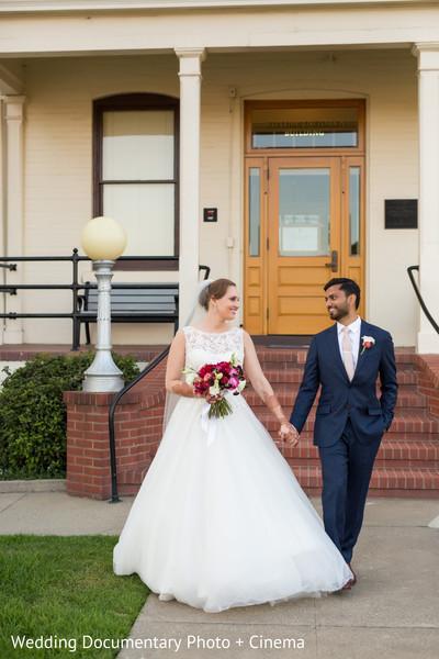 Indian wedding portraits in San Francisco, CA Indian Fusion Wedding by Wedding Documentary Photo + Cinema
