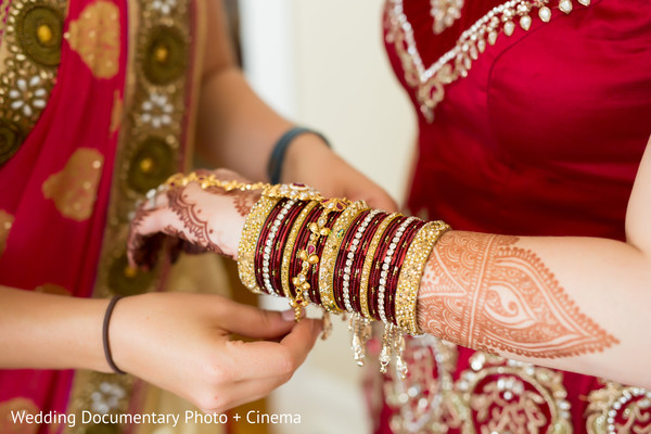 Getting ready in San Francisco, CA Indian Fusion Wedding by Wedding Documentary Photo + Cinema